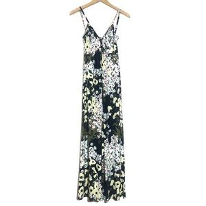 Free People for Anthropologie Floral Maxi Dress XS
